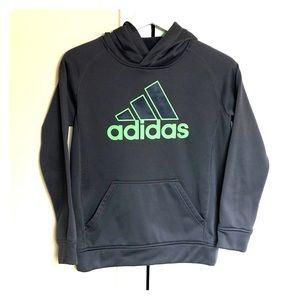 Boys Adidas Fleece Lined Hoodie